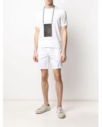 メンズ Dondup リラックスフィット Tシャツ White