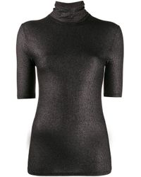 Top Camisa di Majestic Filatures in Black