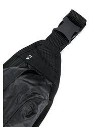 Y-3 ジップ ベルトバッグ Black