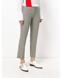 PS by Paul Smith - Black Slim Fit Vichy Trousers - Lyst