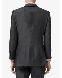 Burberry Sakko mit Nieten in Gray für Herren