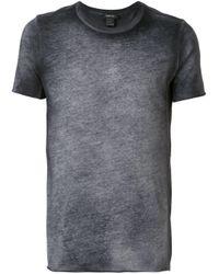 メンズ Avant Toi ラウンドネック Tシャツ Gray