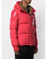 Стеганая Куртка Eloy Moncler для него, цвет: Red