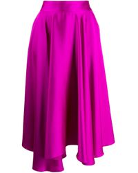 Styland ラッフル スカート Purple