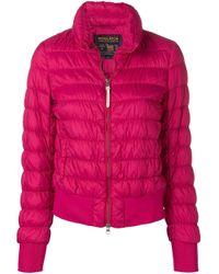Woolrich Pink Slim-fit Padded Jacket