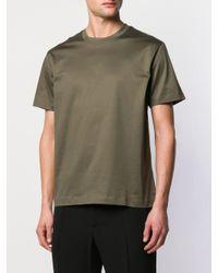 メンズ Les Hommes ロゴ Tシャツ Green