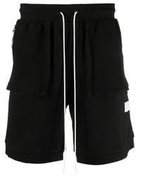 PUMA Shorts mit Kordelzug in Black für Herren