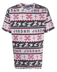 Nike Jordan プリント Tシャツ White