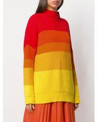 Chinti & Parker オーバーサイズ セーター Orange