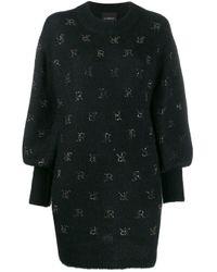 Maglione oversize di John Richmond in Black