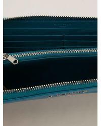 Givenchy Blue 'pandora' Wallet
