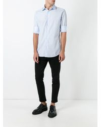 Camisa con botones clásica Fashion Clinic de hombre de color Blue
