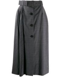 Prada フレア シャツ Gray