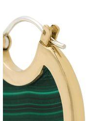 Pamela Love - Green Mojave Large Malachite Earrings - Lyst
