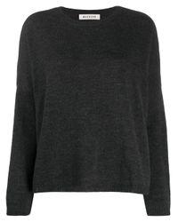 MASSCOB スリムフィット セーター Black