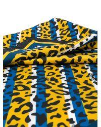 Class Roberto Cavalli レオパード スカーフ Multicolor