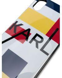 Karl Lagerfeld Karl Bauhaus Iphone X/xs ケース Black