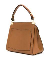 Givenchy Brown Mittelgroße 'Mystic' Handtasche