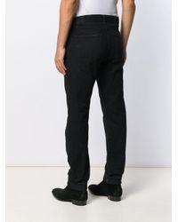 Джинсы Кроя Слим Saint Laurent для него, цвет: Black