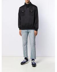 メンズ DIESEL ドローストリング スウェットシャツ Black