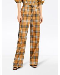 Burberry Multicolor Vintage Check Drawcord Trousers