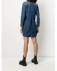 Robe-chemise en jean DIESEL en coloris Blue