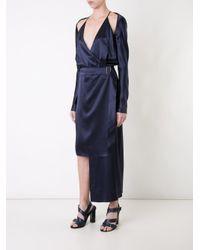 Dion Lee | Blue Contour Tie Dress | Lyst