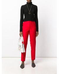 Joseph - Black Panelled Turtleneck Sweater - Lyst