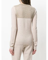 Sonia Rykiel - Natural Slim-fit Sweater - Lyst