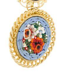 DSquared² - Multicolor Orecchini Pendenti Floreali A Clip - Lyst