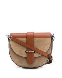 Сумка Через Плечо С Металлическим Логотипом Brunello Cucinelli, цвет: Brown