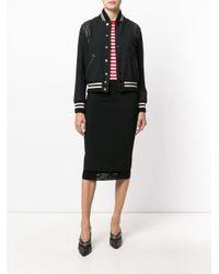 Givenchy レイヤードヘム スカート Black
