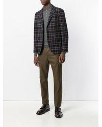 Drumohr Gray Plain Polo Shirt for men