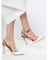 Camila Klein - Multicolor Crystal Embellished Anklet - Lyst