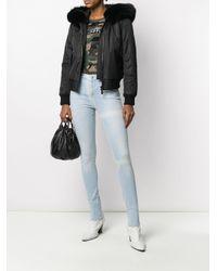 Jeans skinny a vita alta di Philipp Plein in Blue