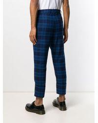 メンズ Vivienne Westwood チェックパンツ Blue