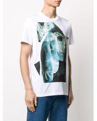 メンズ Helmut Lang プリント Tシャツ Multicolor