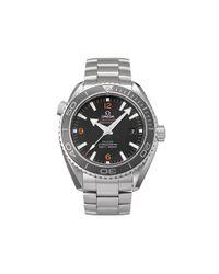 Наручные Часы Seamaster Planet Ocean Pre-owned 45.5 Мм 2008-го Года Omega для него, цвет: Black