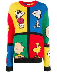 Chinti & Parker Peanuts カラーブロック セーター Multicolor