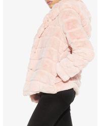 Apparis Goldie エコファー ジャケット Pink