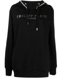 Philipp Plein Icon パーカー Black