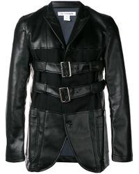 Куртка С Пряжками Comme des Garçons для него, цвет: Black
