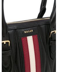 Sac à main matelassé Bally en coloris Black