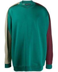 メンズ Y. Project ドレープパネル スウェットシャツ Green
