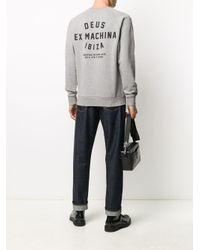 メンズ Deus Ex Machina ロゴ スウェットシャツ Gray