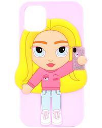 Chiara Ferragni Iphone 11 ケース Pink