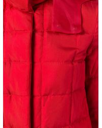 Moncler Gamme Rouge - Red Hooded Jacket - Lyst