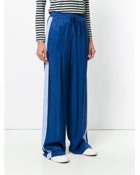 Pantaloni ampi di Tommy Hilfiger in Blue
