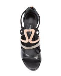 Ruthie Davis Black Kiernan Sandals