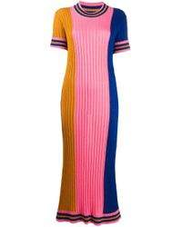 Henrik Vibskov カラーブロック ニットドレス Pink